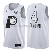 Maillot NBA Pas Cher Indiana Pacers Victor Oladipo 4# White 2018 All Star Game Swingman..